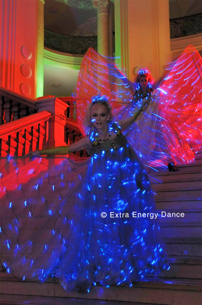 Extra Energy Dance Performance Pas de bleu